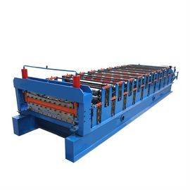 Stepped Sheet Roofing Tile Maszyna do formowania Ibr Roof Panel Forming Machine